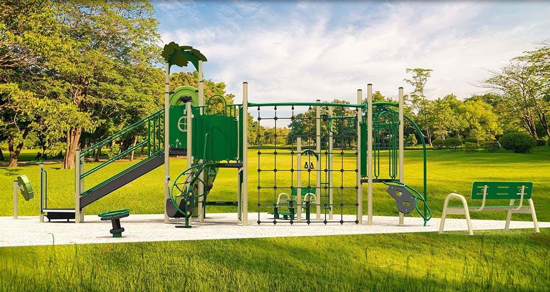Selkirk Park Playground Structure