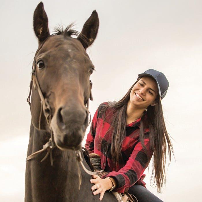 Gros plan sur l'équitation