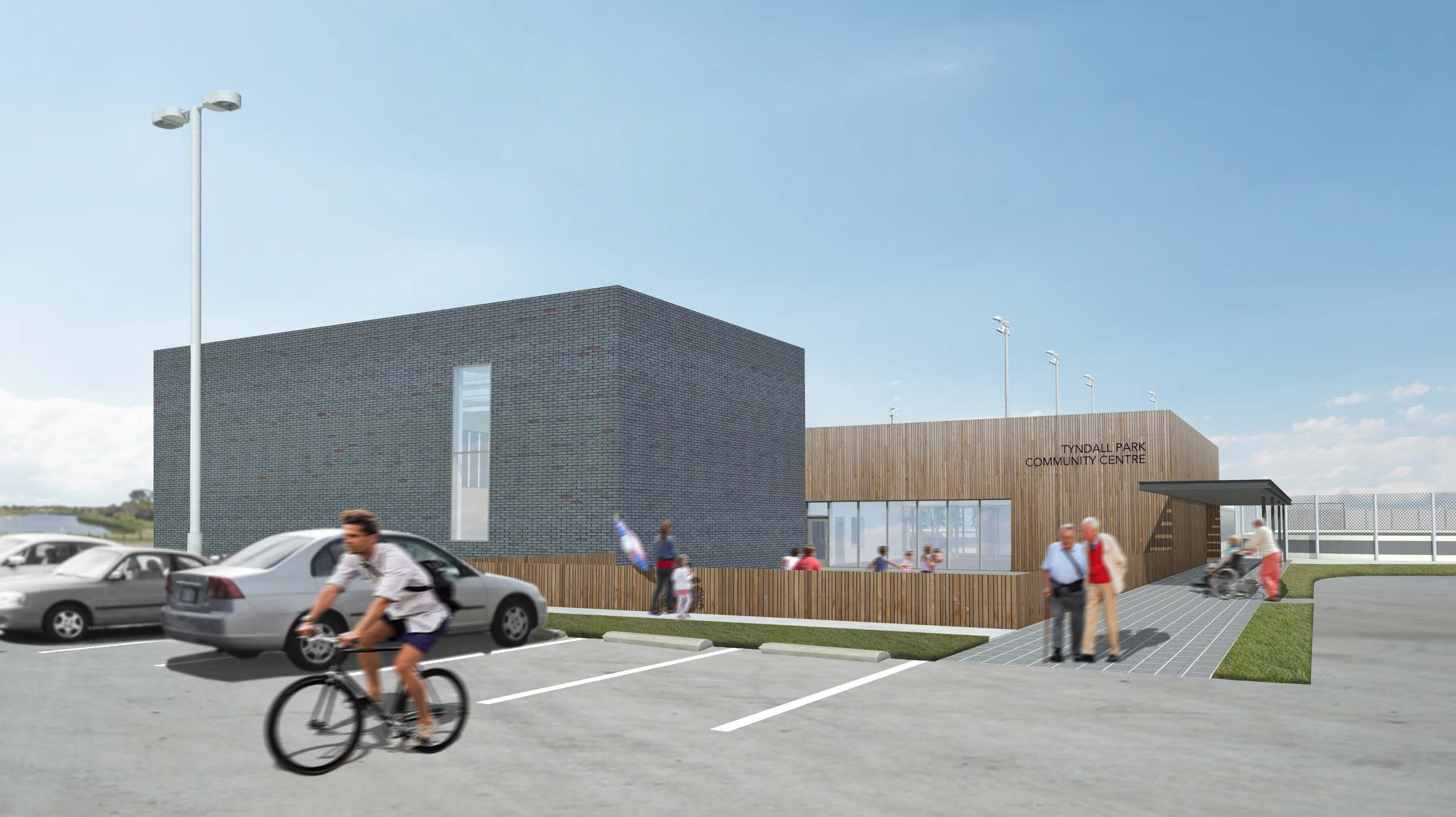 Tyndall Park Community Centre Rendering #1