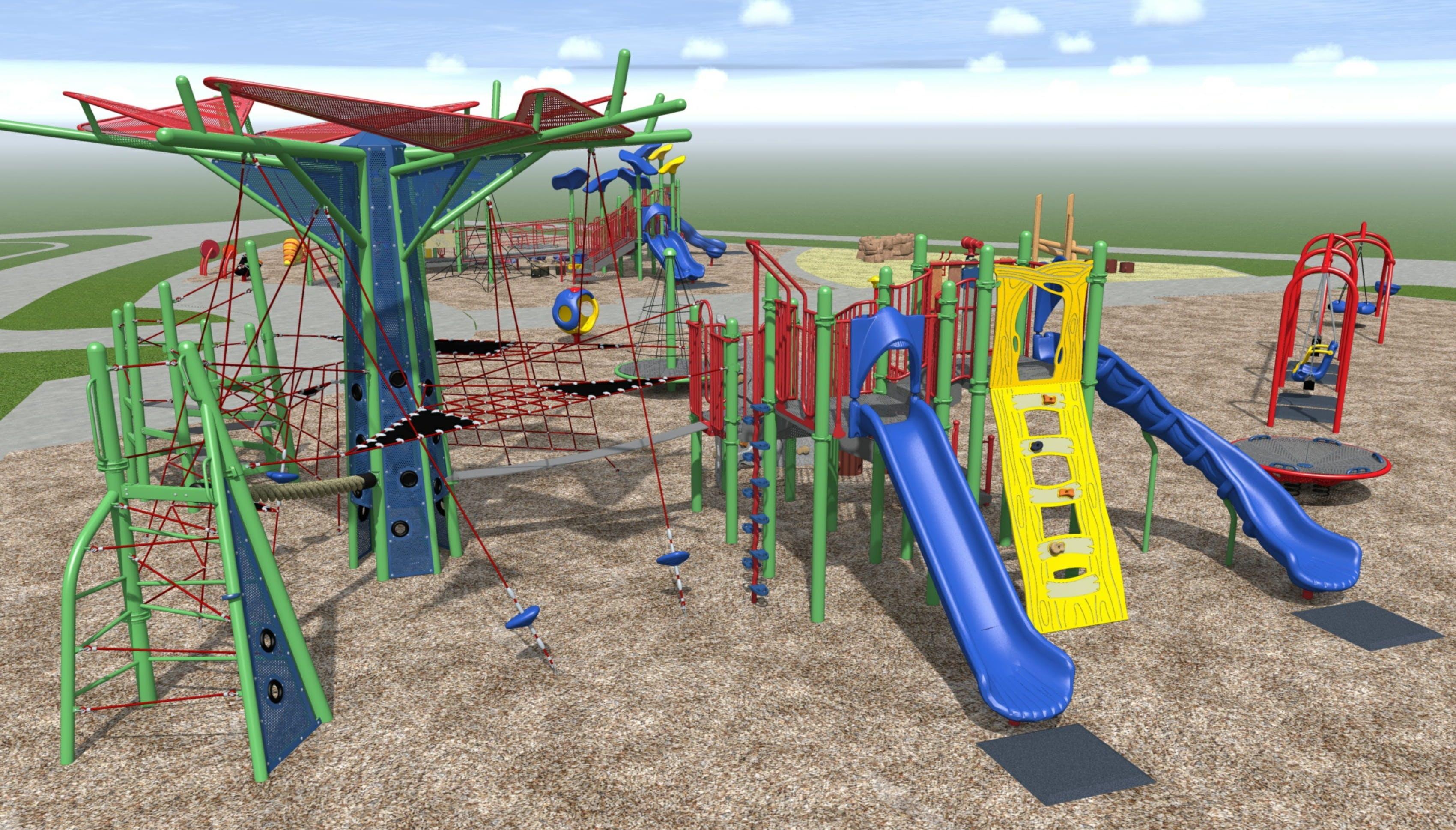Playground C: Senior Play Area