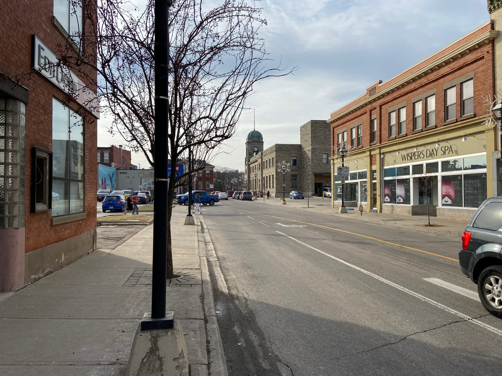 View of Dickson Street