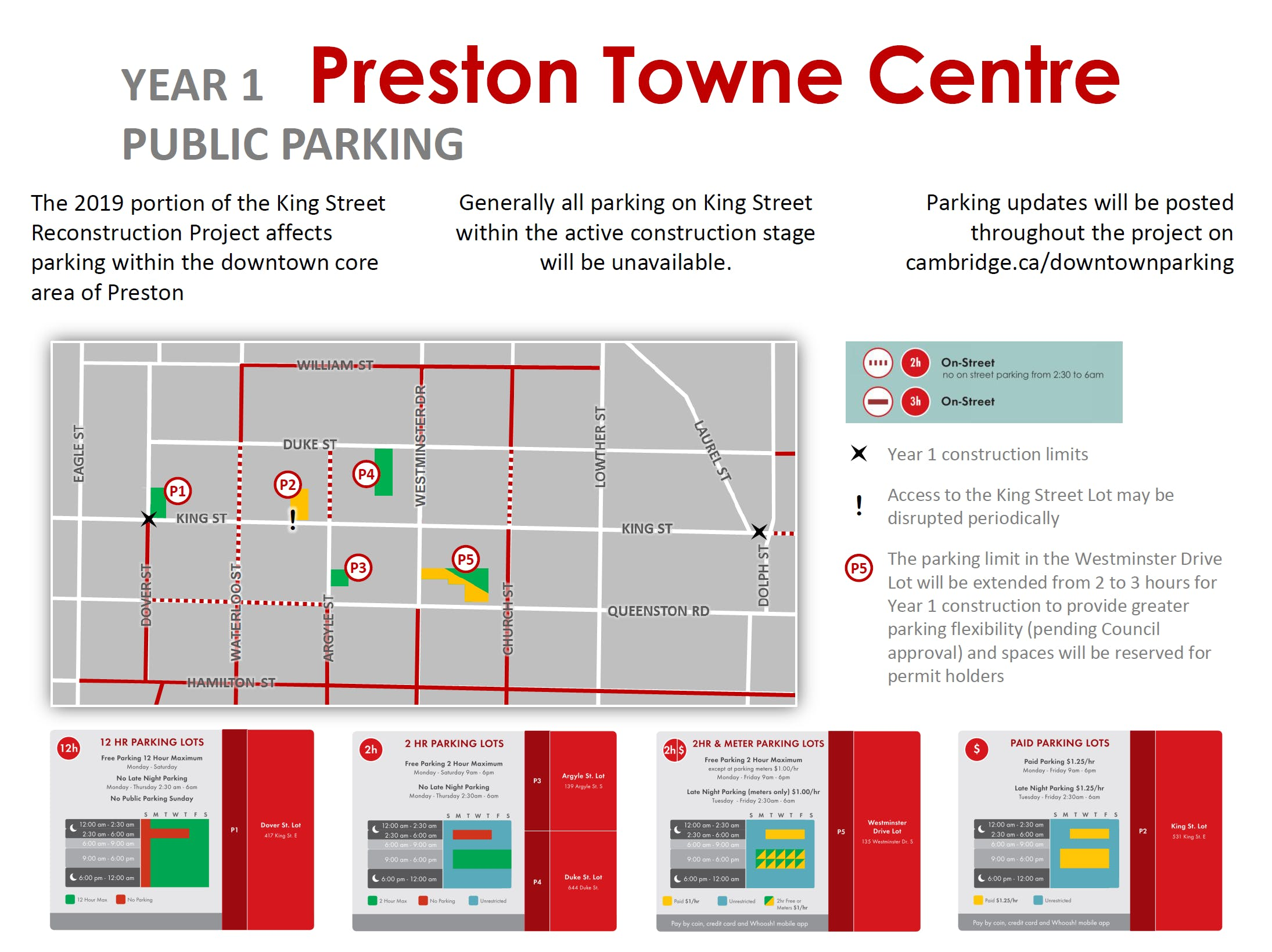 Parking Map Updated