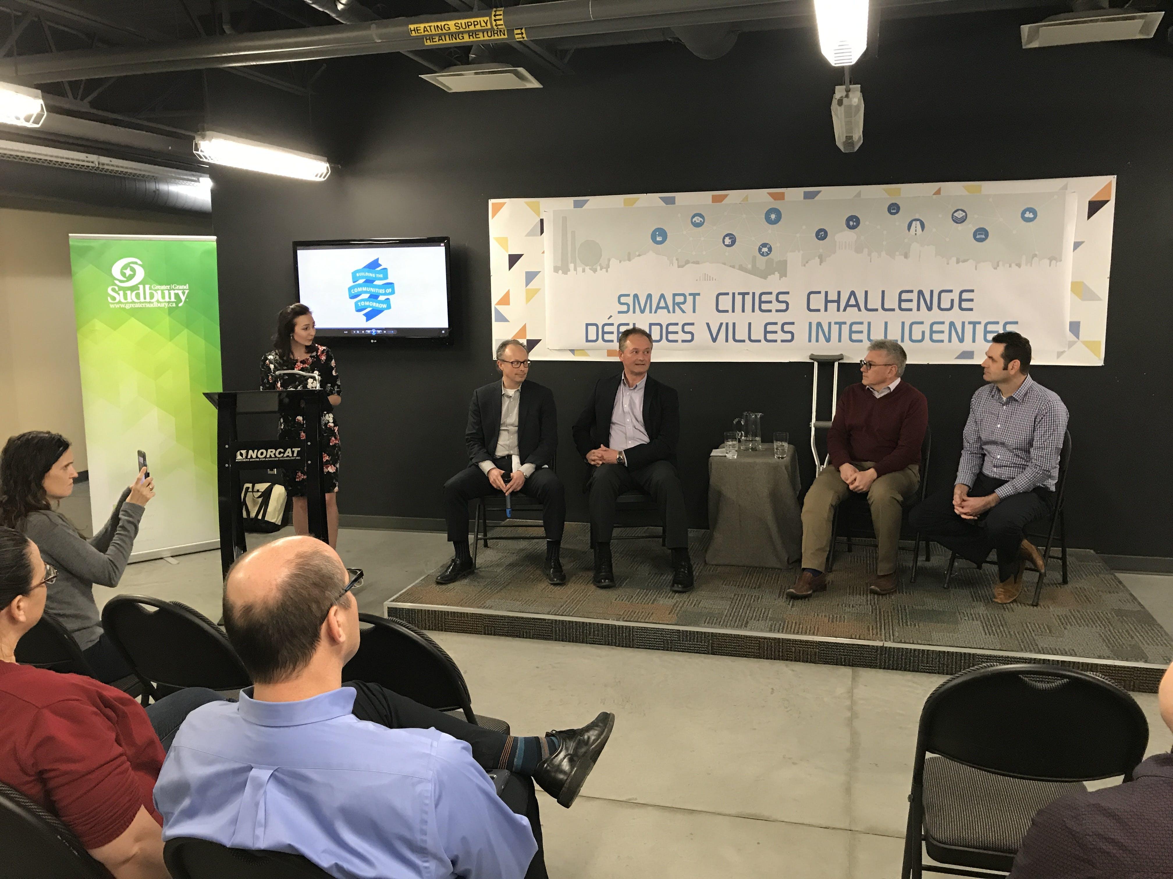 Smart Cities Panel Talk