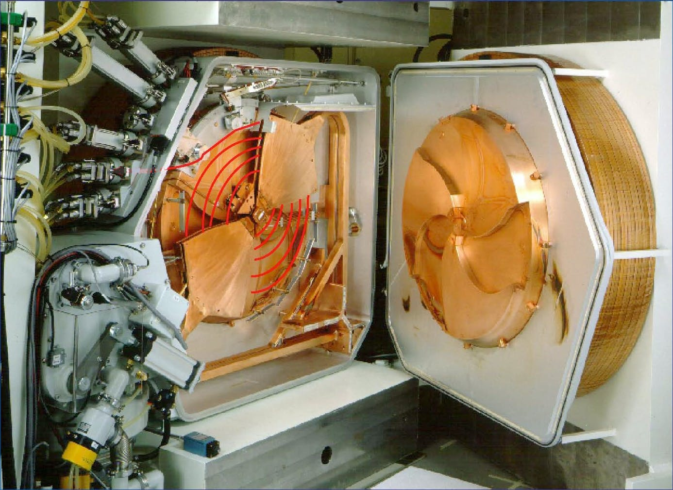 Internal View of Cyclotron