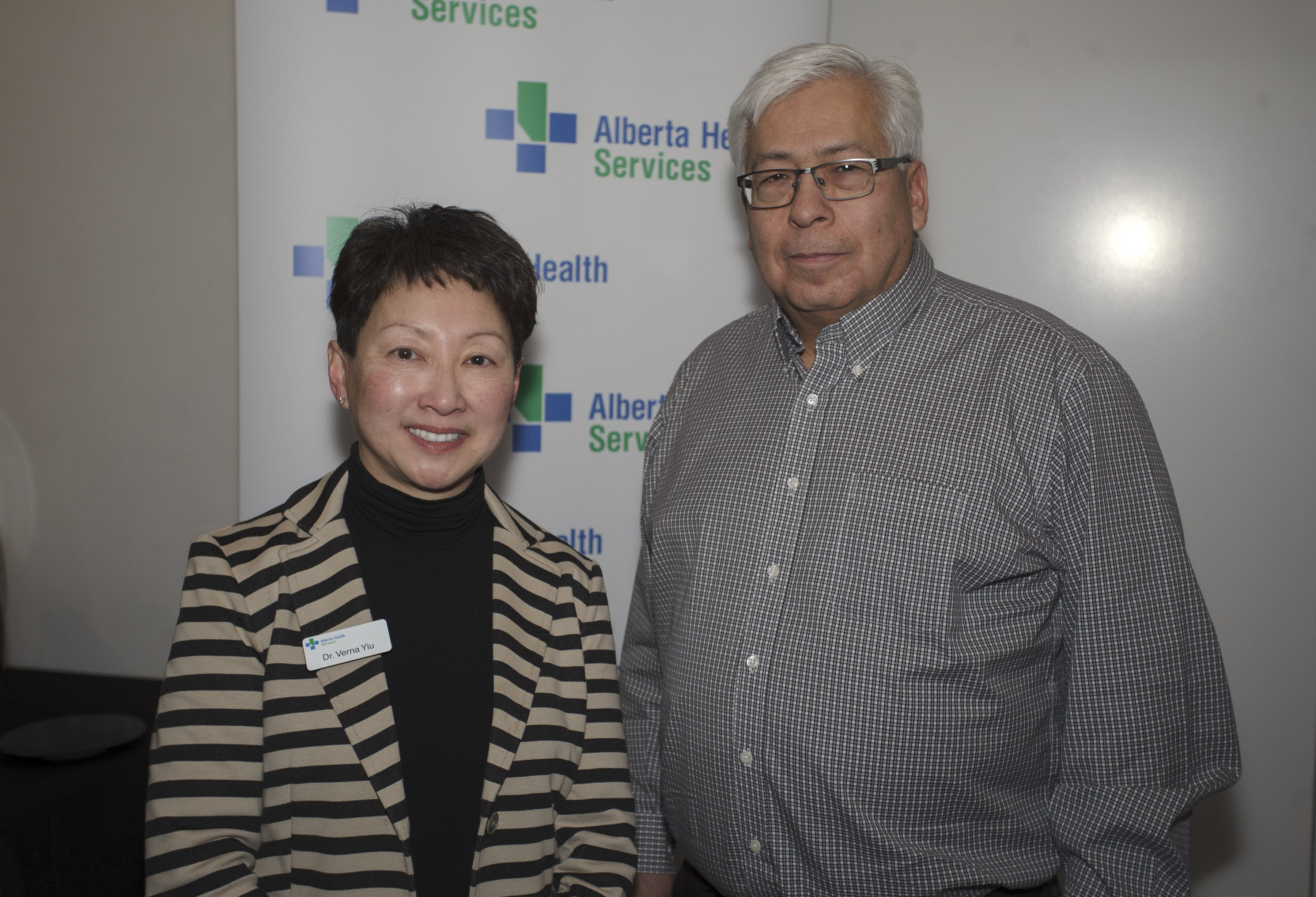 Conversation with Dr. Verna Yiu in Calgary