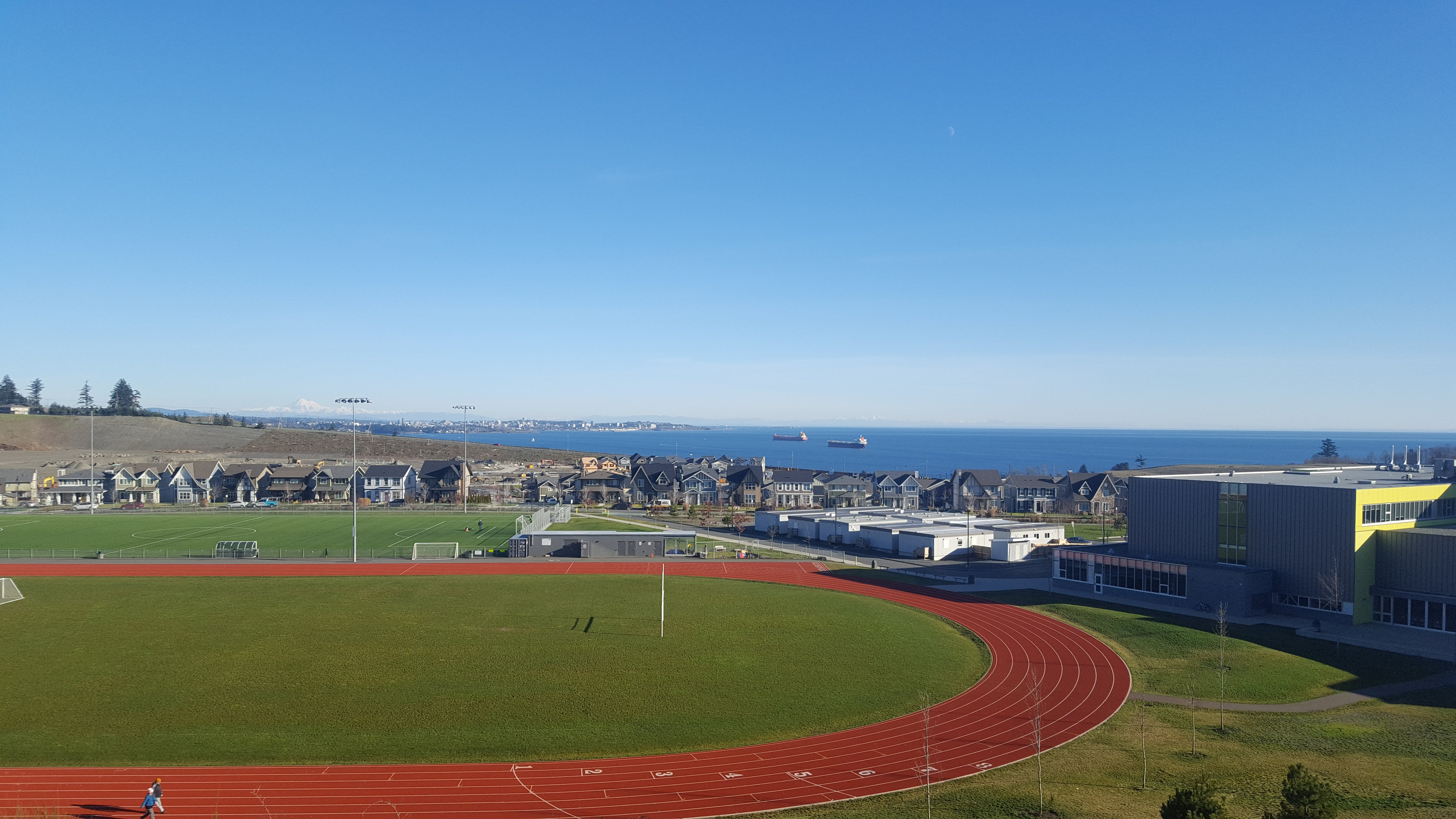 Overlooking Royal Bay Secondary School