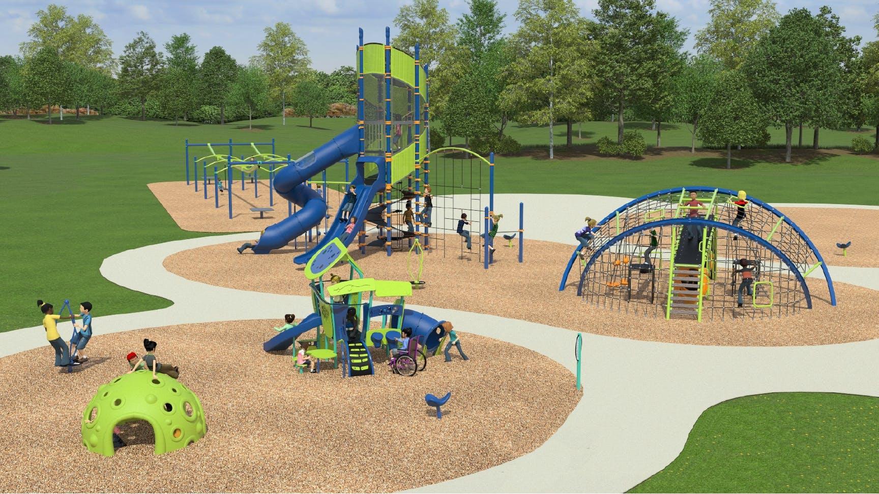 Crossings Playground Renderings