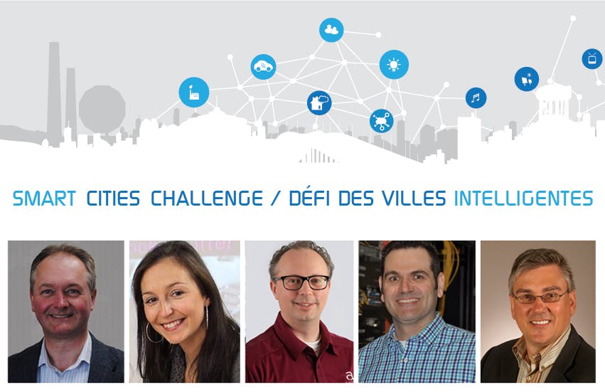 Smart Cities Challenge Discussion Panel on March 27, 2018