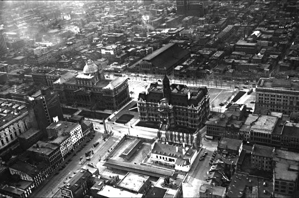 Le quartier en 1928 - Ville de Montréal