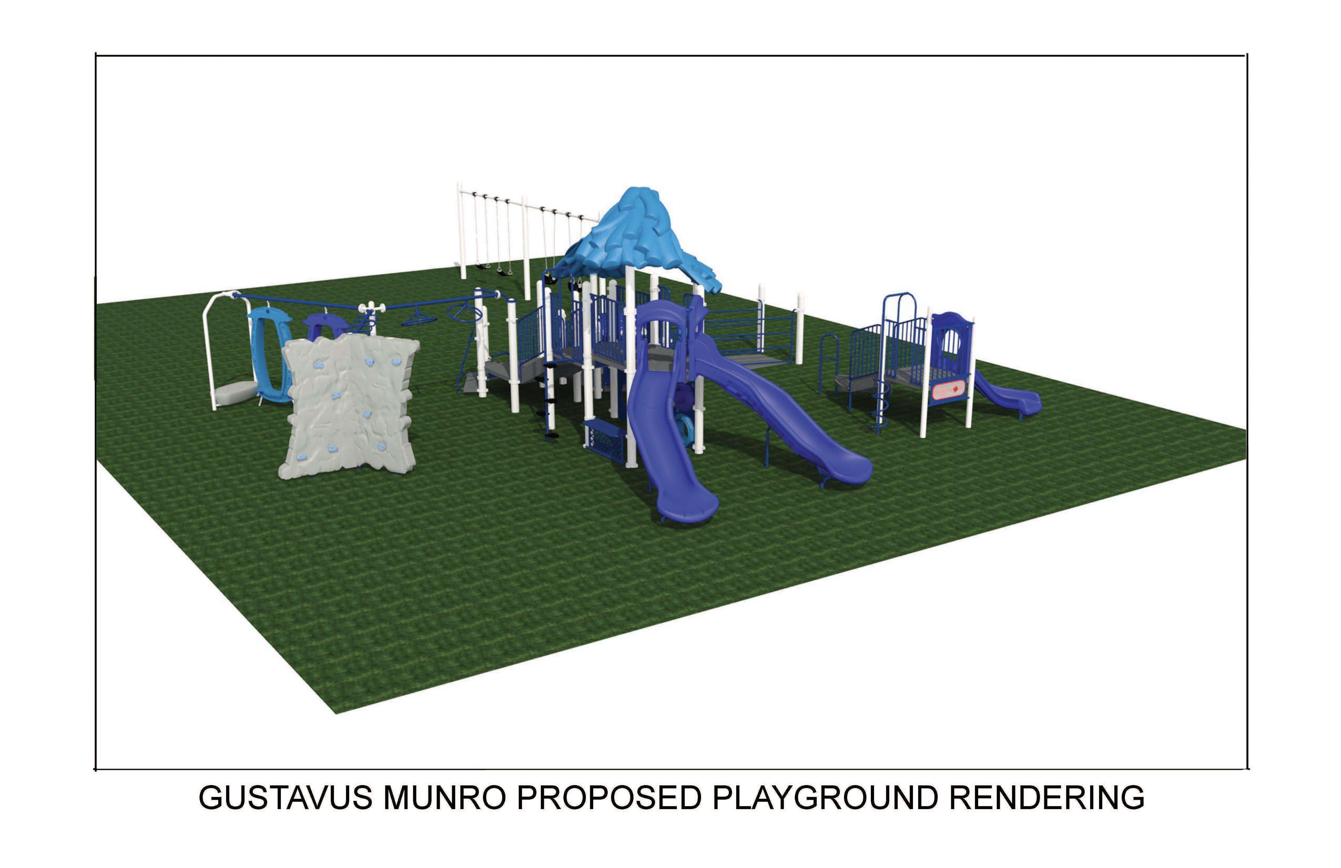 Gustavus Munro Park Rendering