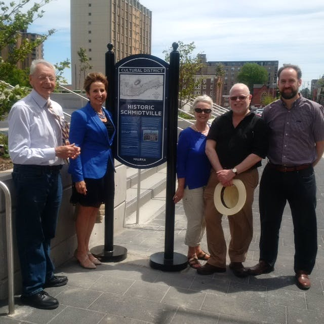 Cultural District Signage Unveiled