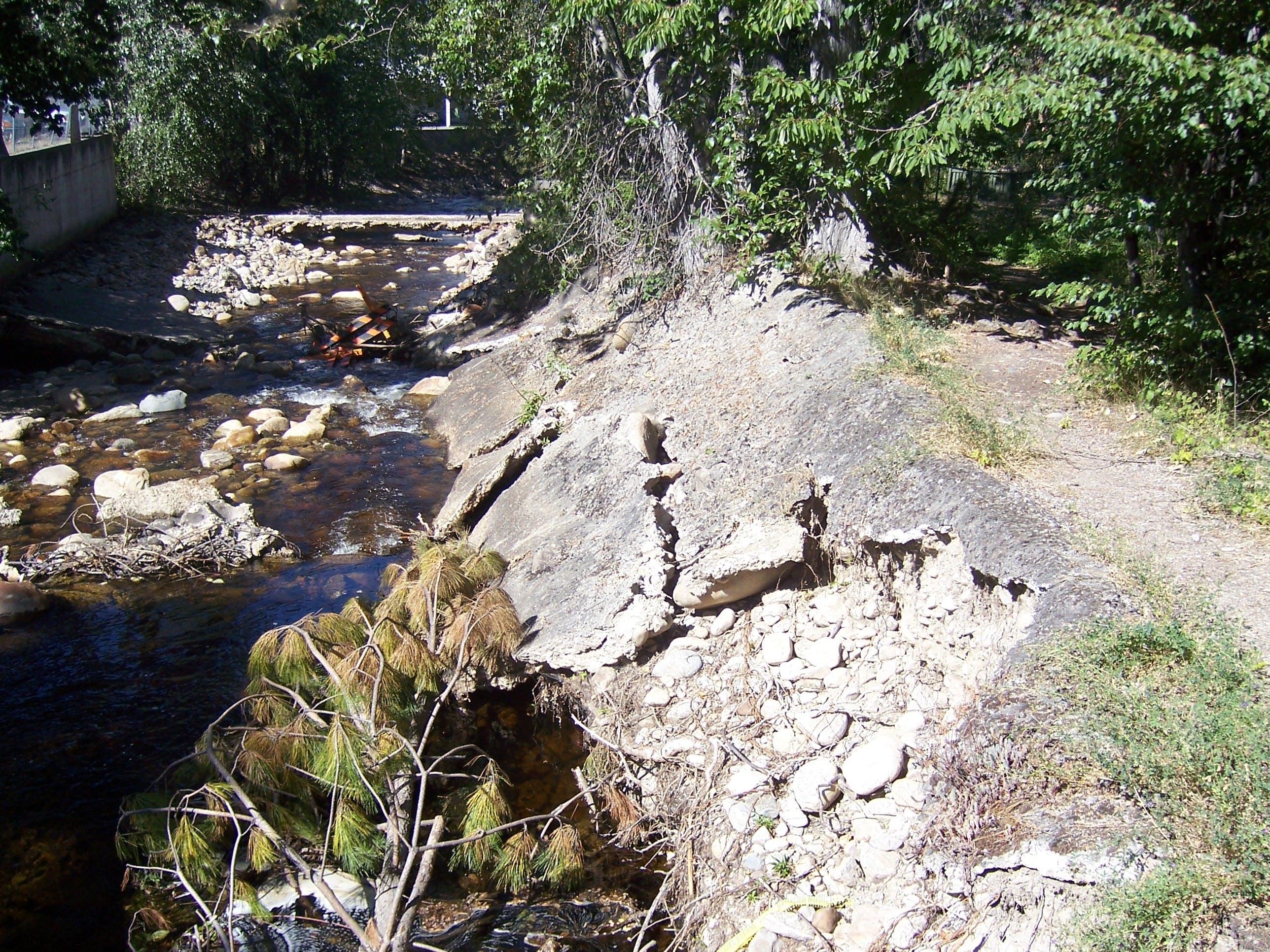 Penticton Creek Damage #1