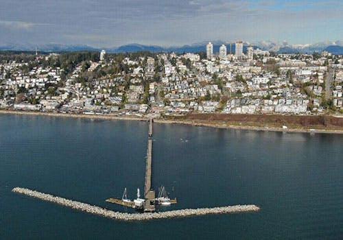 Waterfront Devastation Photo By Brian Strilesky
