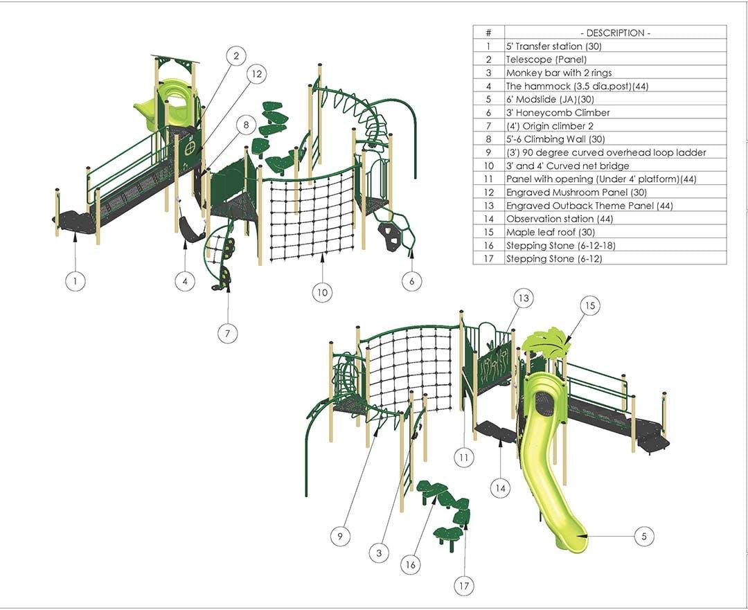 Selkirk Park Playground Detail