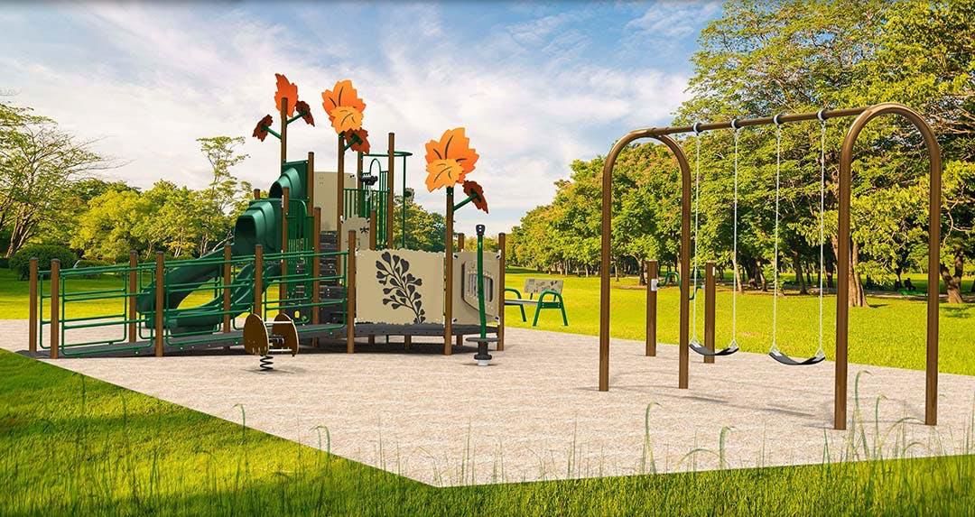 St. Joseph Playground Side View