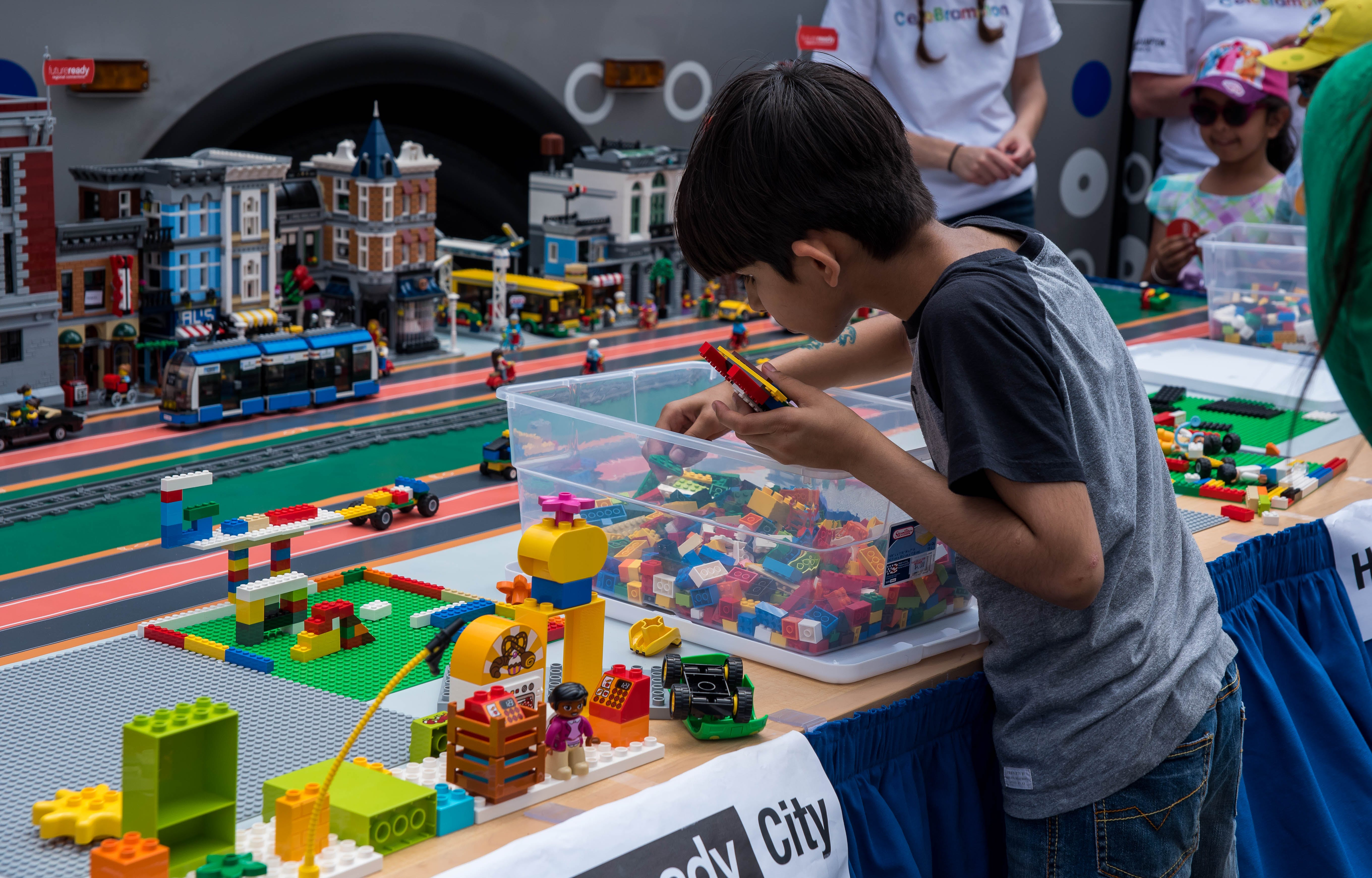Building a Future Ready city one lego at a time