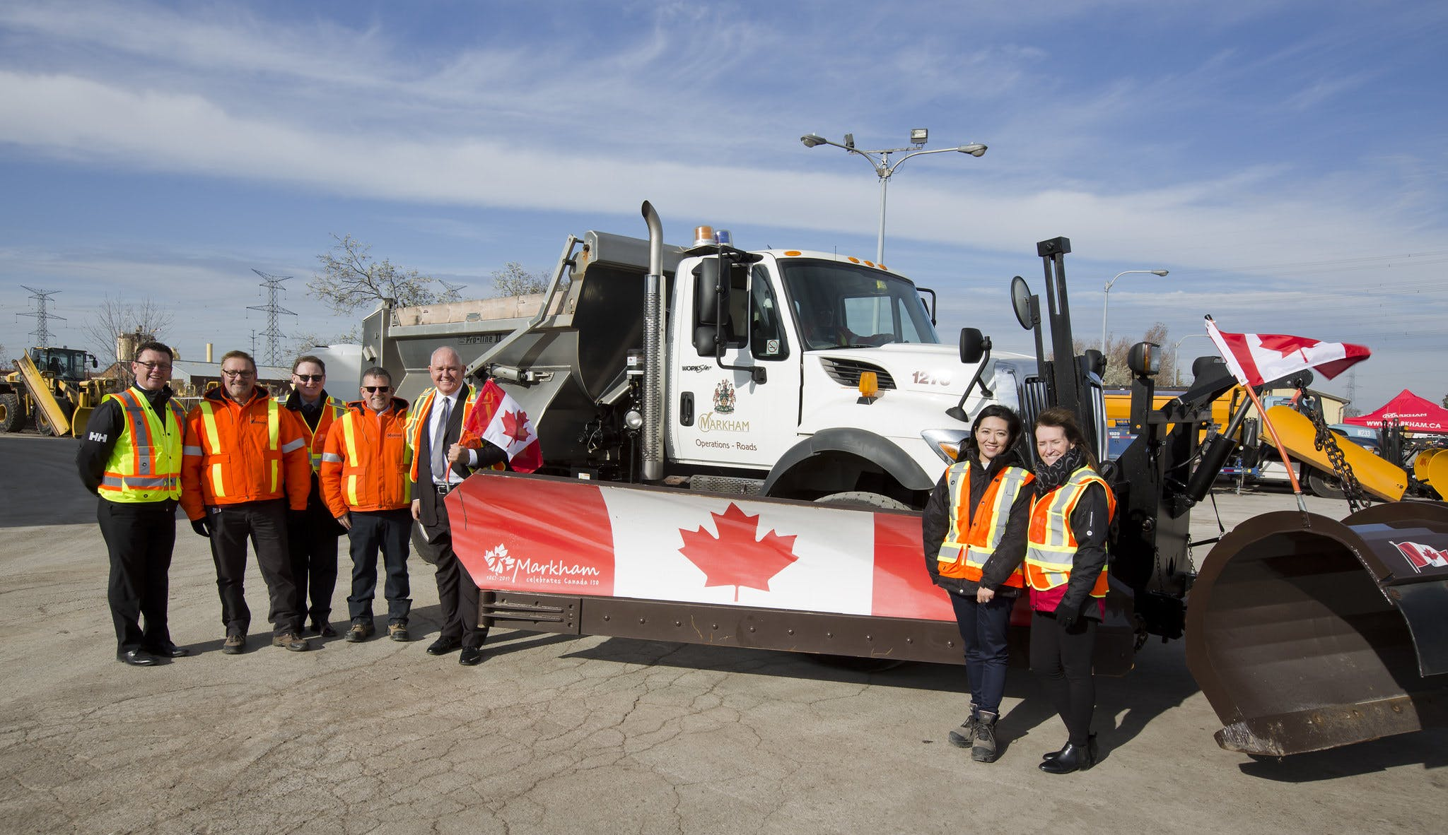 Markham - Canada Plow - News Conference 2017