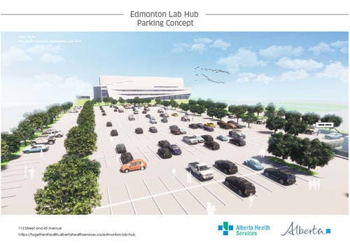 Edmonton Parking Lab Hub View