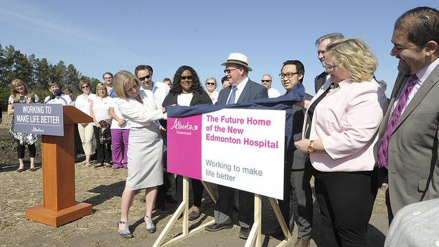 Announcement of New South Edmonton Health Campus