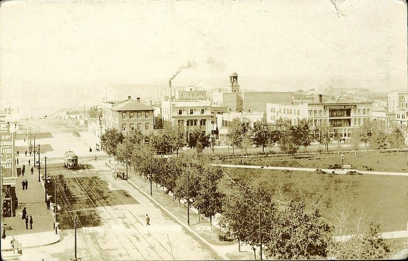 Historic 3rd Aveune S and Galt Gardens