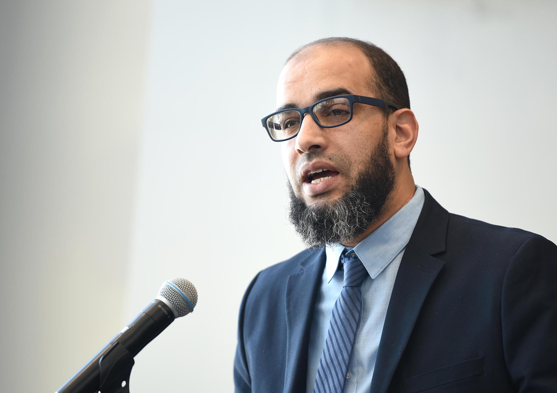 Abdellatif Baoud, président du Partenariat local en matière d'immigration