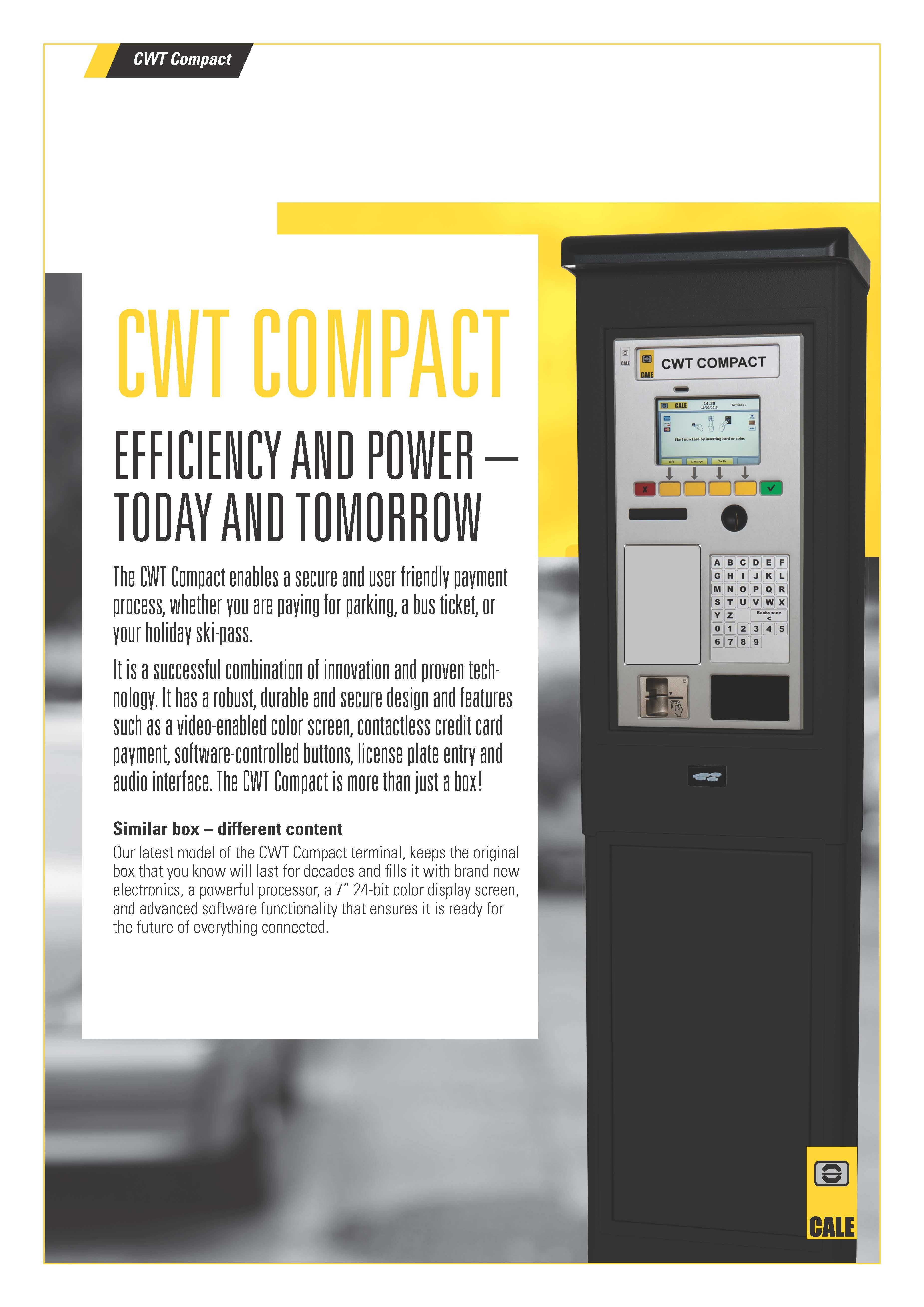 Cale Pay Station
