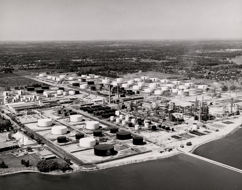 1965 Clarkson Refinery