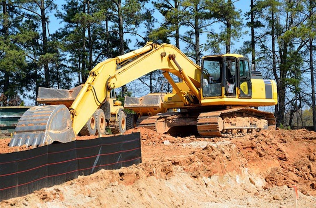 Tanbark Road Construction
