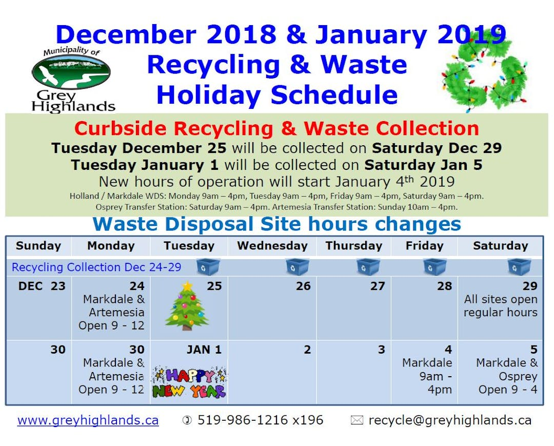 recycling and waste | connect grey highlands