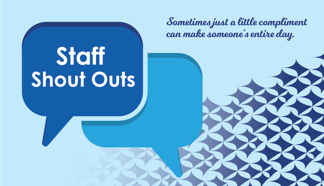 Staff shoutouts final