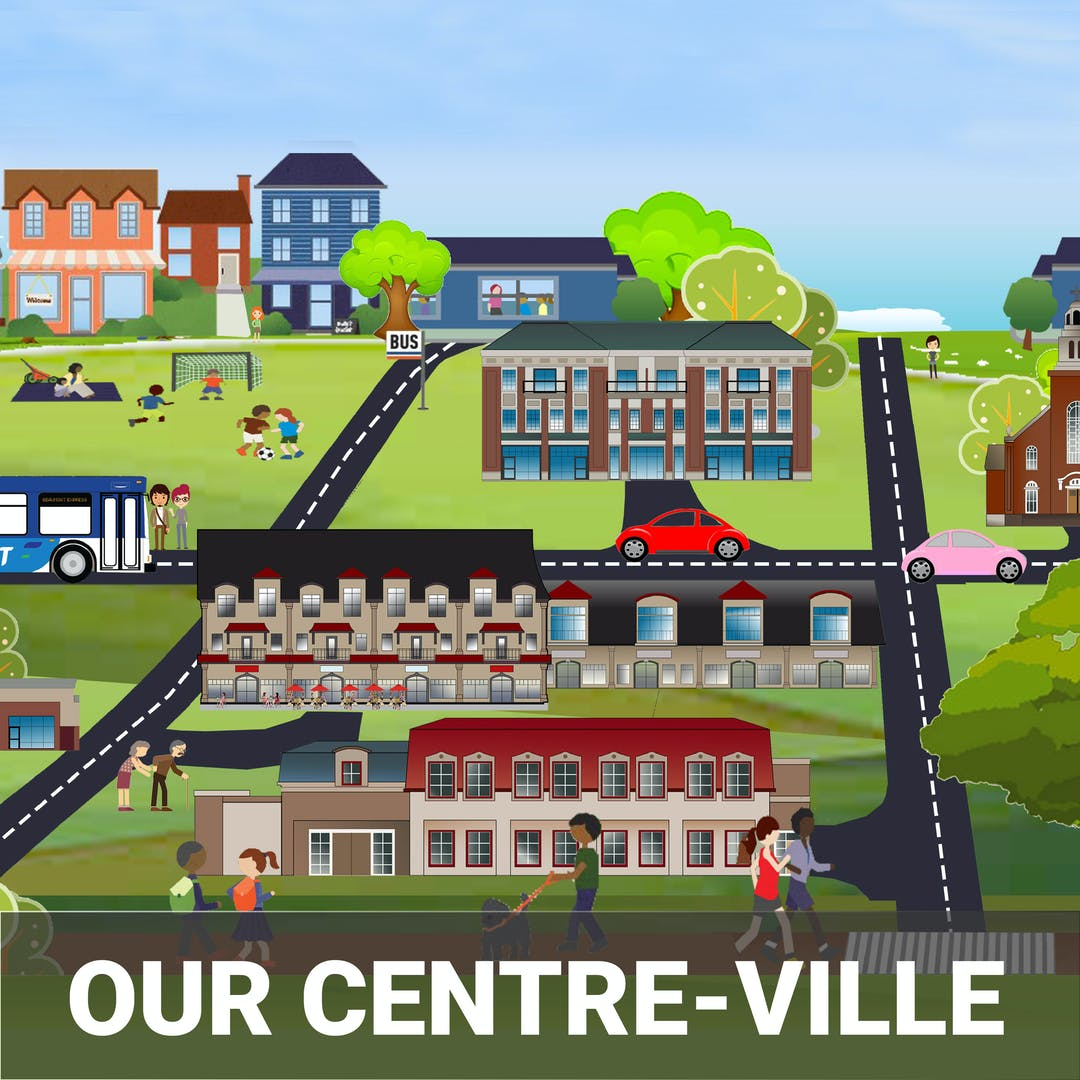 The Our Centre-Ville project is targeted at providing guidelines, creating local investment, and diversifying Beaumont's assessment base through the development and redevelopment of the historic and cultural heart of our community, Centre-Ville.