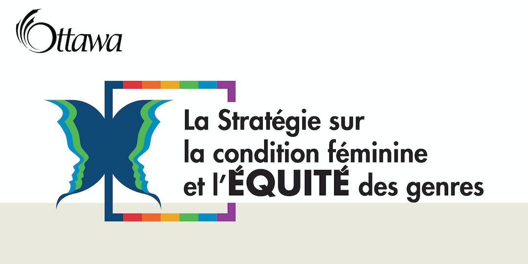 Le project image pour la stratégie pour la condition féminine et l'équité des genres