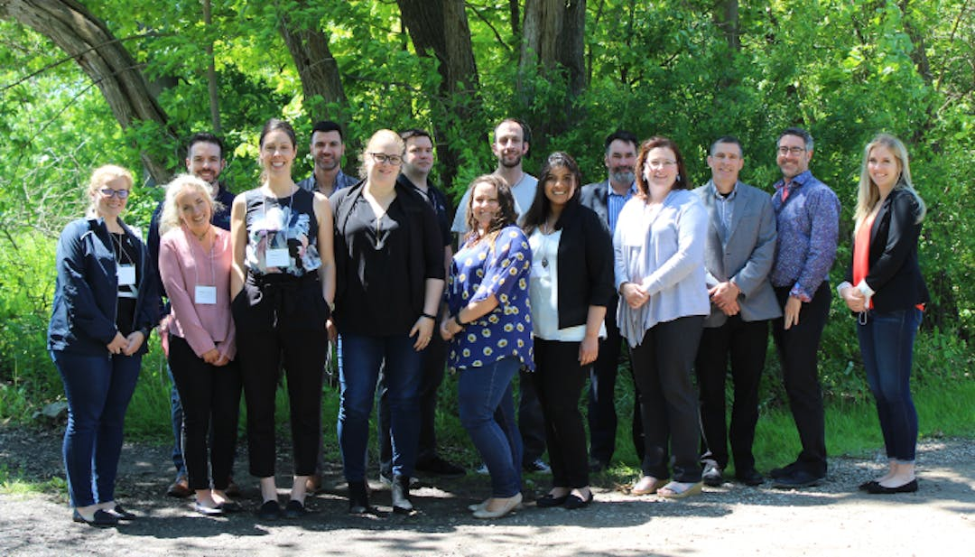 Niagara Adapts partners, group shot