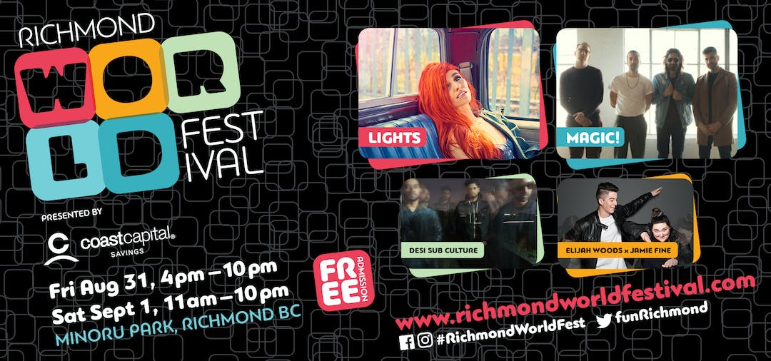 Share your input on the Richmond World Festival 2018