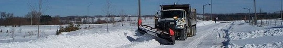 City of Markham  Snow Plow