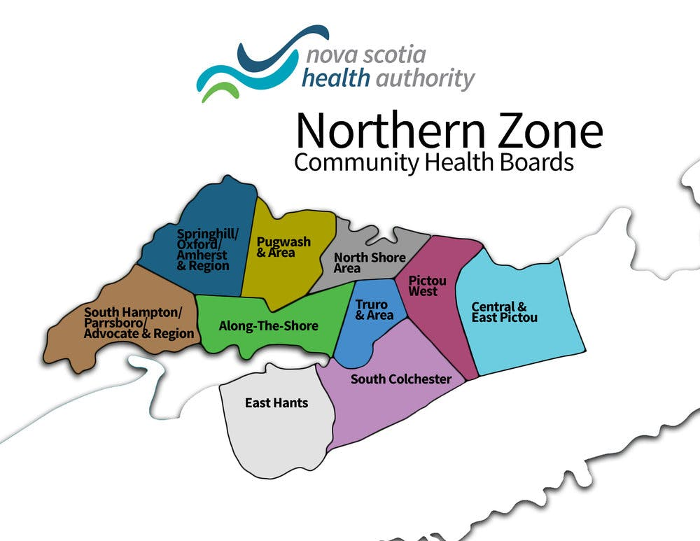 Northern zone map