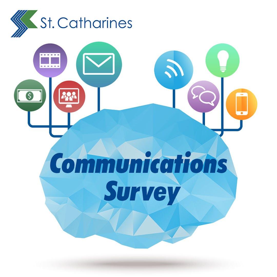 Engage comms survey logo