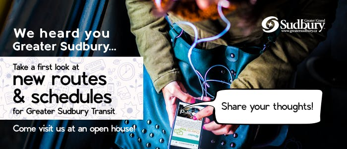 Take a First Look encourages residents to review proposed new routes and schedules prior to launch of a new transit network in late August, 2019. Draft schedules and route maps are available online, on paper and at citywide open houses until April 23, 2019.