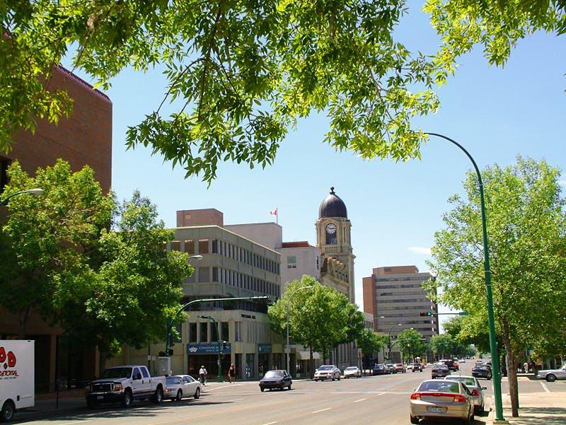 Downtown Lethbridge