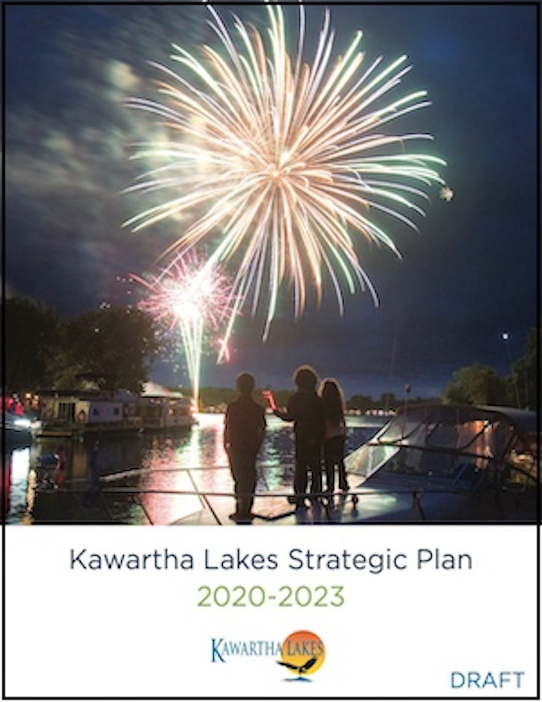 Cover of the draft Strategic Plan