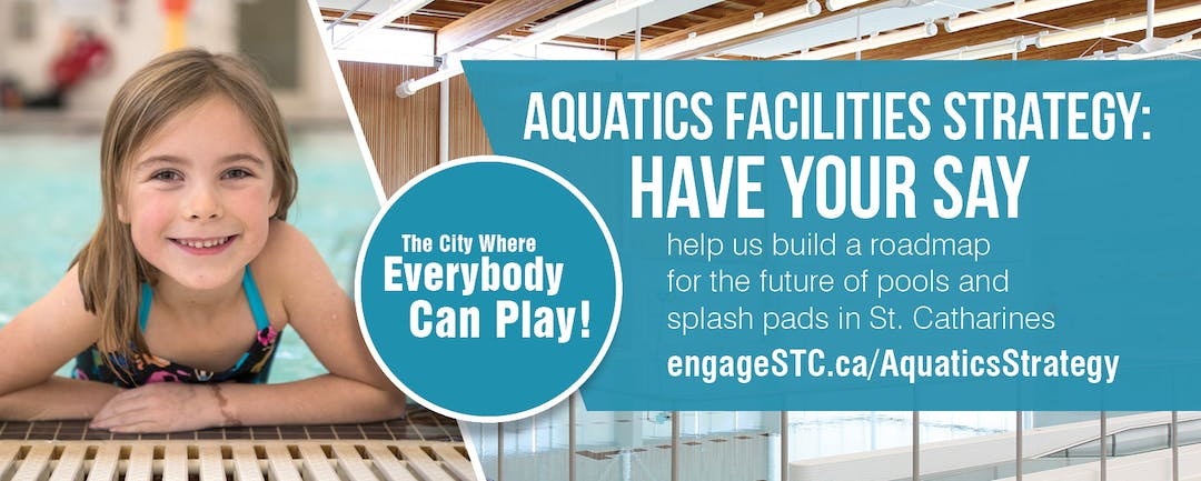 Aquatics Facility Strategy Banner