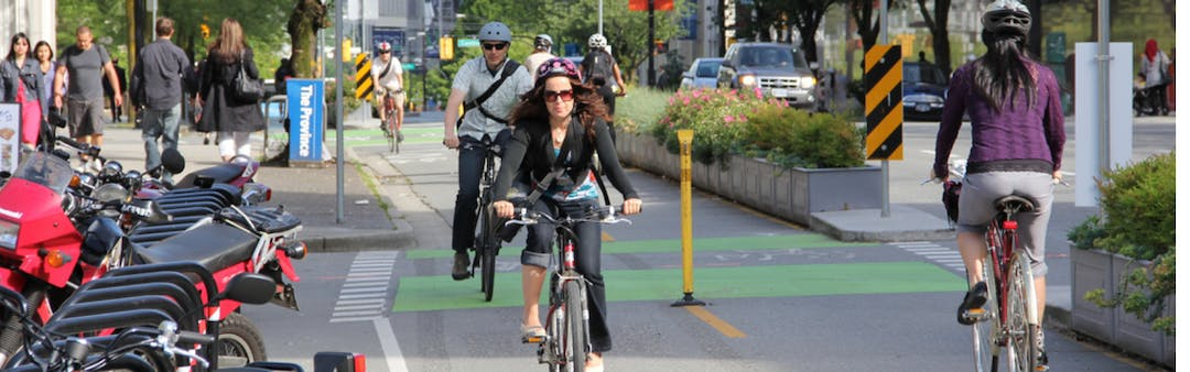 With the goal of making cycling safer and more accessible, the Region of Waterloo is building a 5 km separated cycling network pilot project. This 18 month pilot project begins in late Summer 2019.