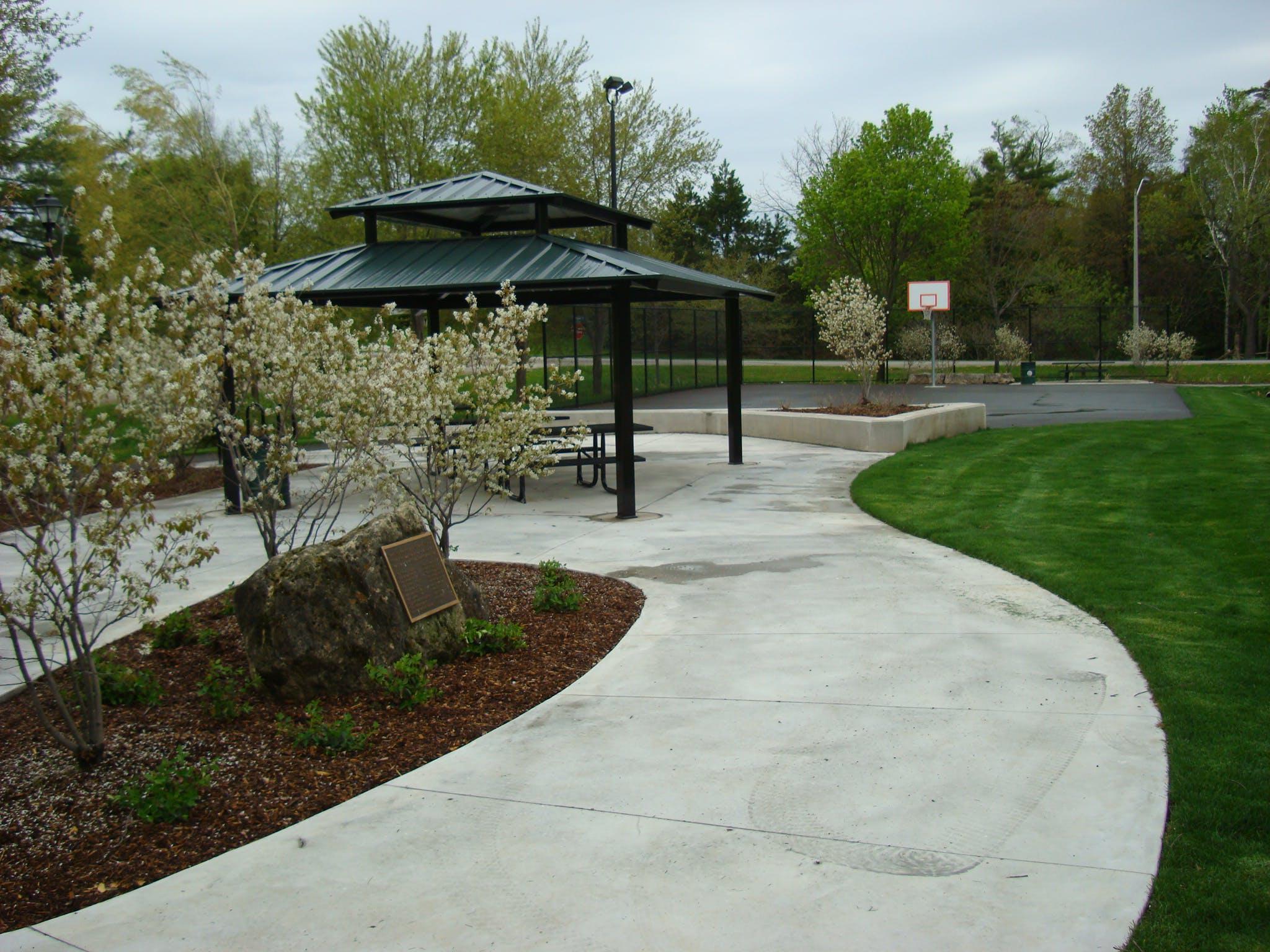 Park Shelter in Campbellville Old Park.