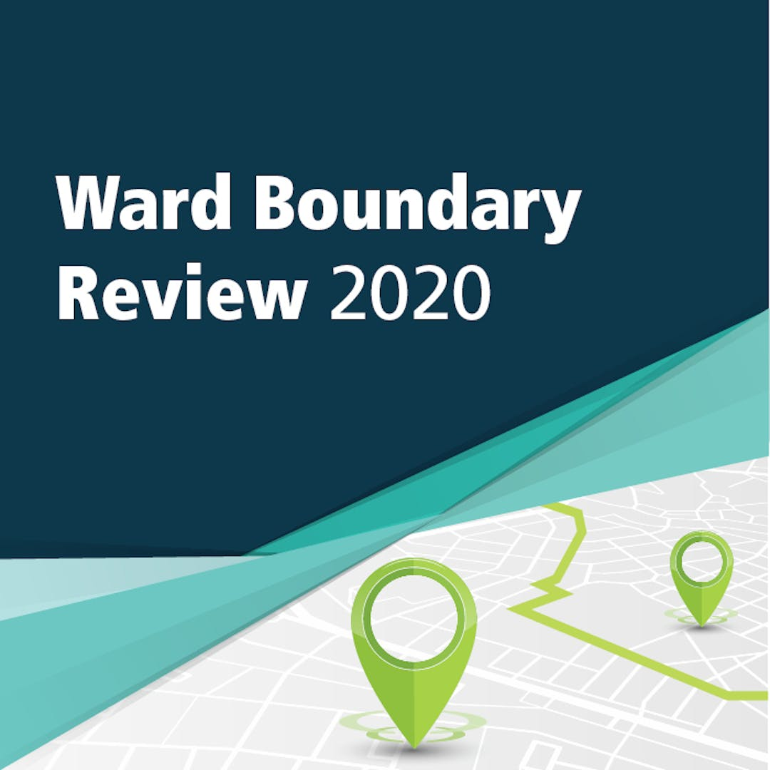 Ward Boundary Review 2020 project banner