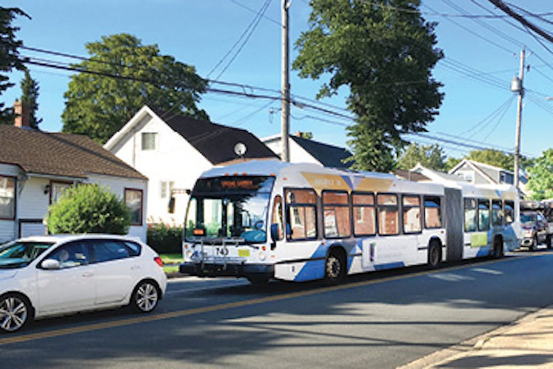 Bus on Bayers Road