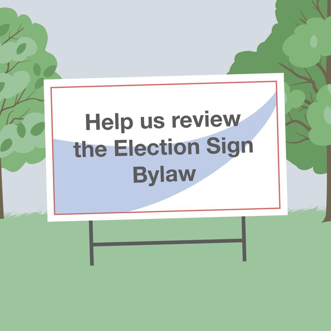 Peblock electionsignbylaw