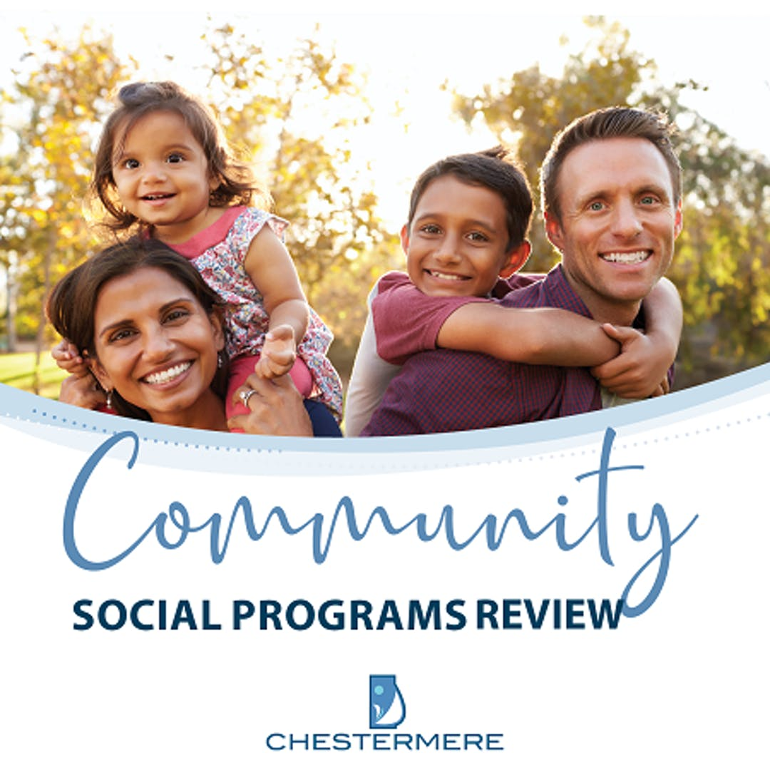 The City has partnered with HelpSeeker and Turner Strategies to conduct a review of Chestermere's social programming and resources.