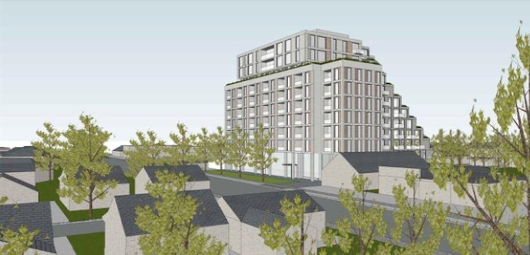 Proposed mixed use development 27 29 31 harwoodaves