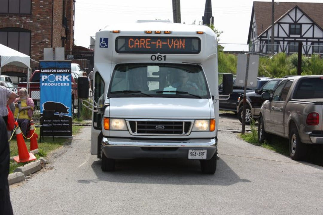 Sarnia Care-A-Van bus