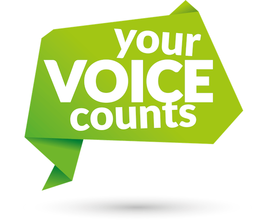 Making your voice counts